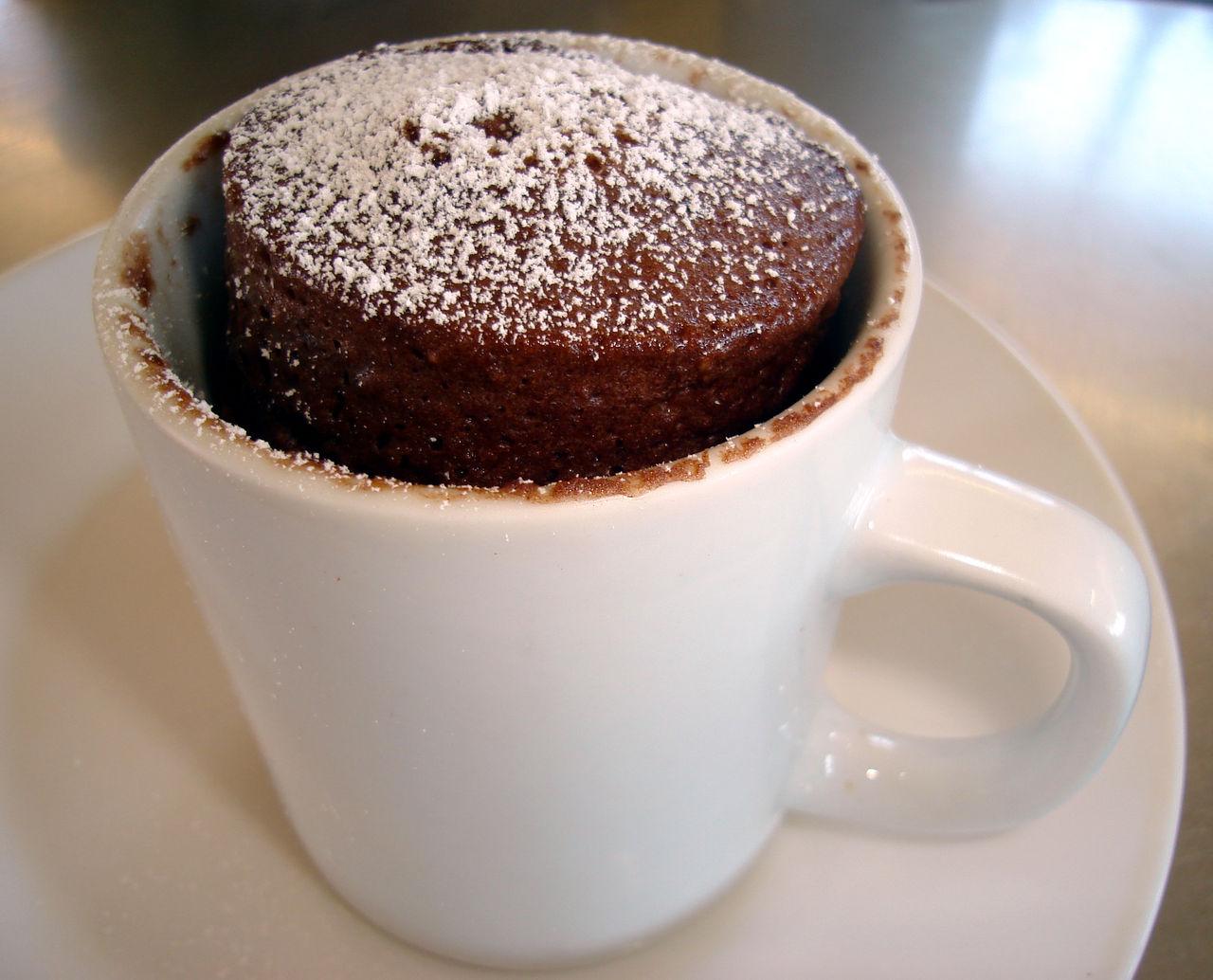 Microwave Coffee Cup Cake