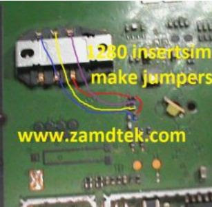 Nokia 1280 and Nokia 103 insert sim solution