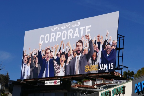 Corporate season 2 billboard