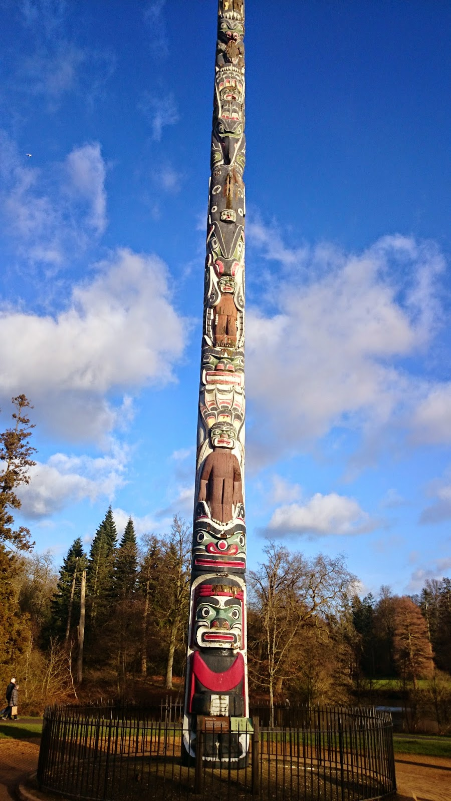 Totem at the Virginia Water Park