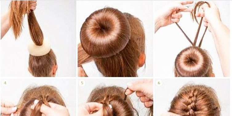 Magnificent Unique Braided Bun Steps By Step Beauty Health Travel And Short Hairstyles For Black Women Fulllsitofus