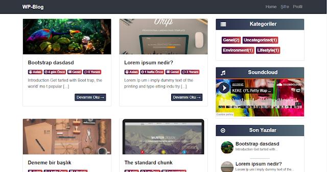 ücretsiz wordpress blog teması, kişisel blog teması