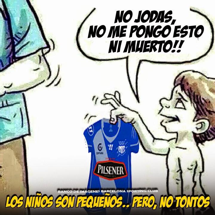 MEME EMELEC  NO JODAS NO ME PONGO ESTA CAMISETA DE PORQUERIA (EMELEC) NI  MUERTO!! Ídolo del Ecuador 59a3ecbb46d