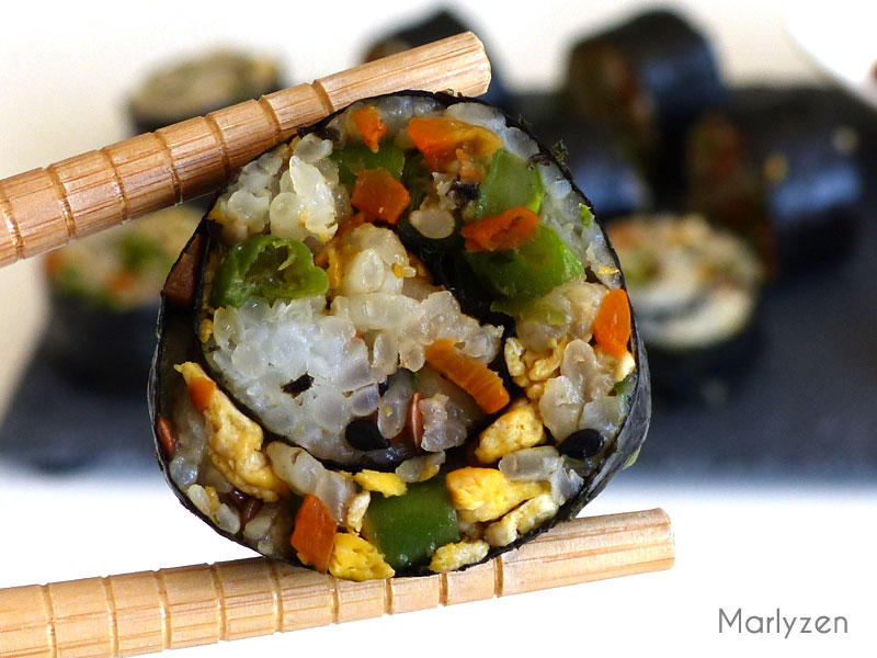 Maki aux légumes