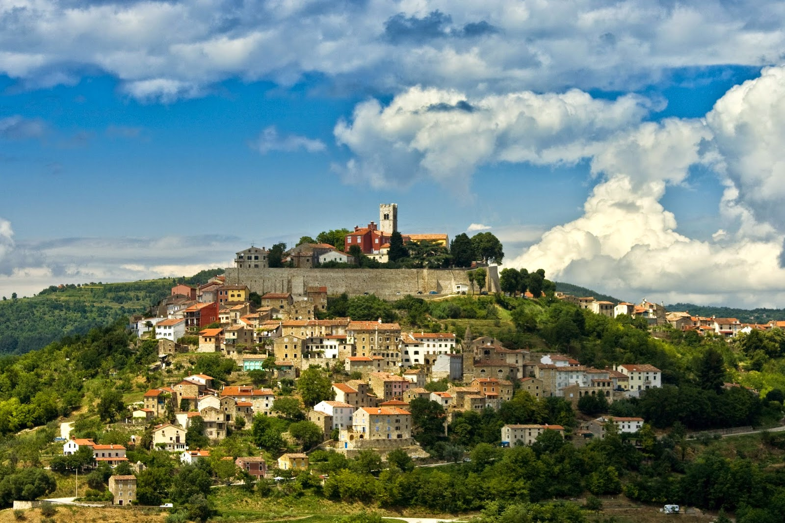 motovun istria croatia road trip travel guide