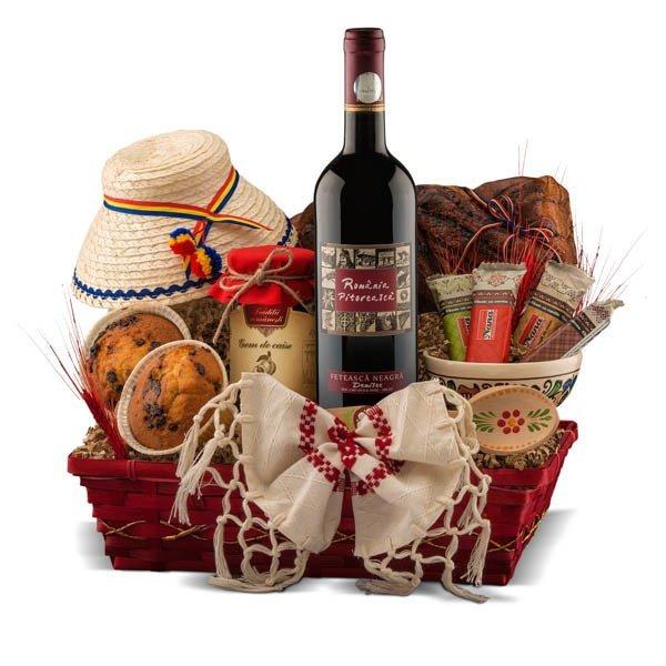 Cos de cadou traditional romanesc