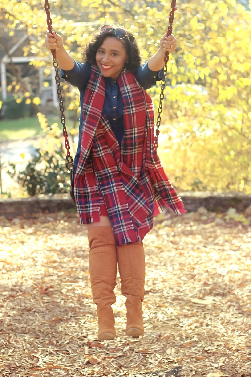 Thanksgiving, plaid, happy thanksgiving, holiday wear