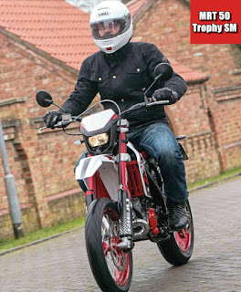 Rieju MRT 50 Trophy Supermotard Review, Worth Trying!
