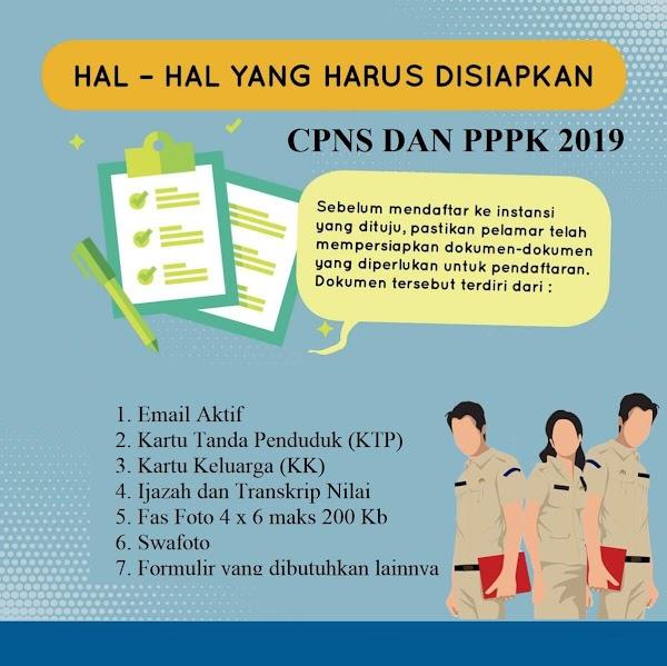 Apa Persyaratan Seleksi ASN (CPNS dan PPPK) 2019??