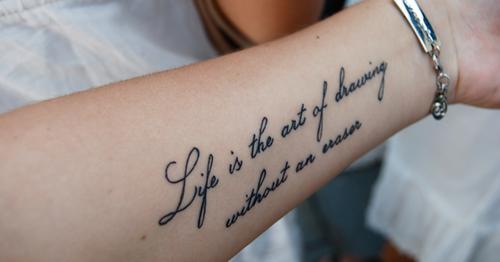 Frases Para Tatuagem Na Costela Em Portugues