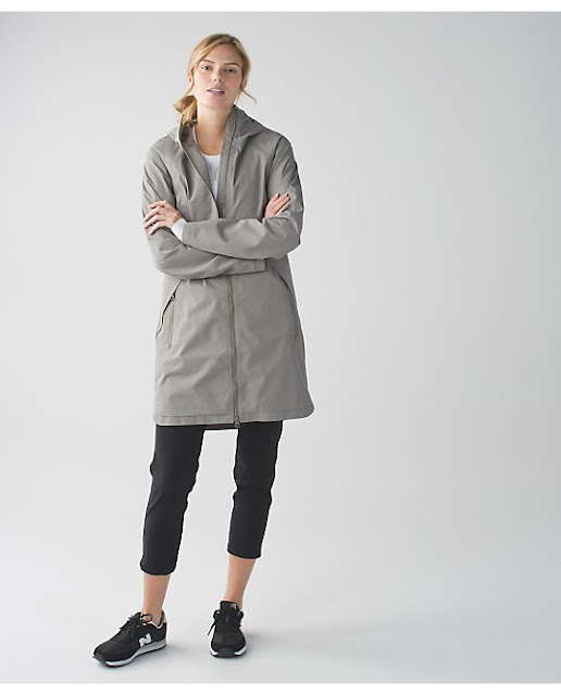 lululemon definitely-raining-jacket soft-earth