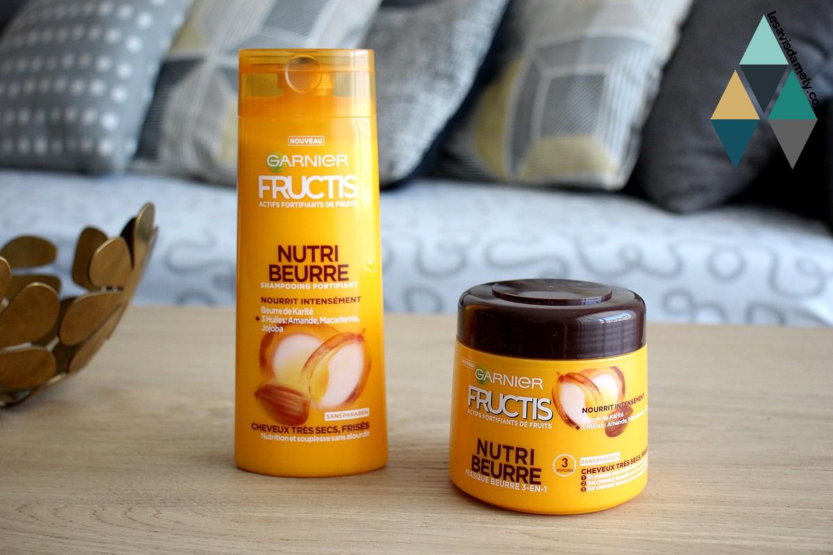 nutri beurre gamme nourrissant fructis garnier