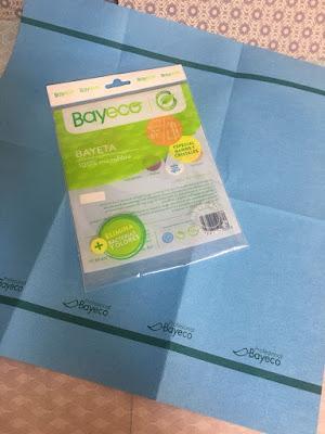 Bayeco, limpieza solo con agua, limpieza ecologica, bayeta baños y cristales,
