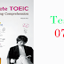 Listening Complete TOEIC - Test 07