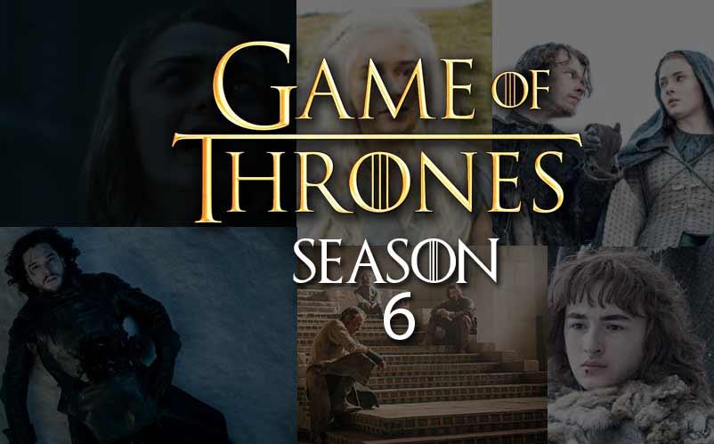 Game Of Thrones Season 6 720p HD Free Download - Mubshar KashmiRi