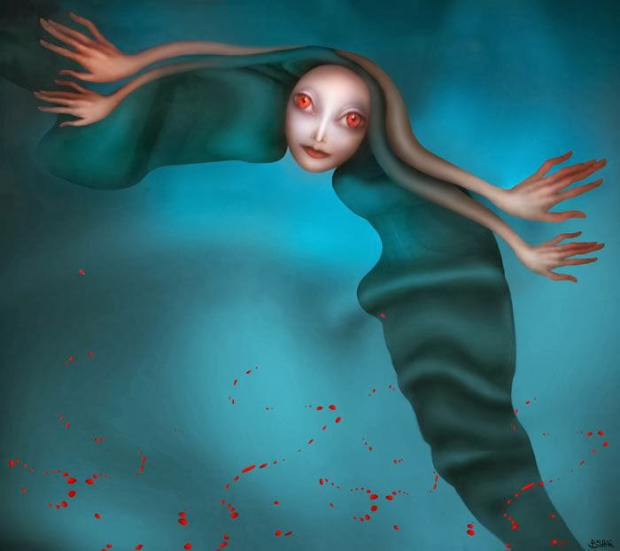 Hypnotic Strange Creatures in a Surreal World By Svetlana Bobrova