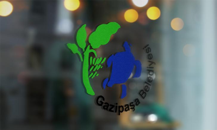 Antalya Gazipaşa Belediyesi Vektörel Logosu