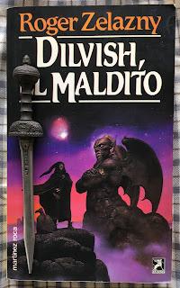 Portada del libro Dilvish, el maldito, de Roger Zelazny