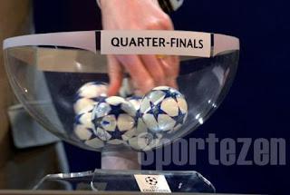 Jadwal Babak 8 Besar Perempat Final Liga Champions
