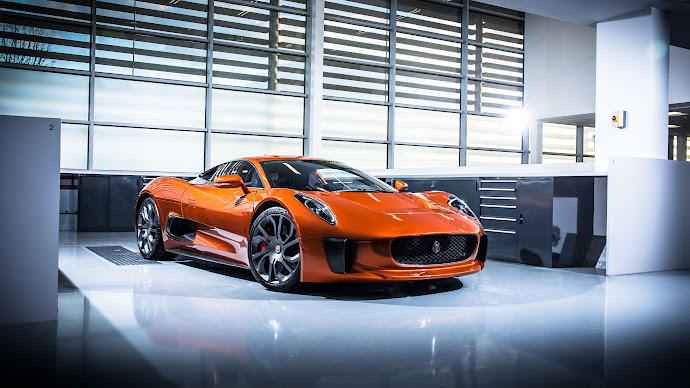 Wallpaper: Jaguar C-X75. The New Bond SPECTRE car