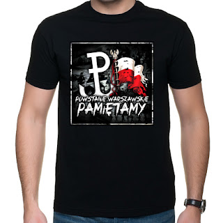 koszulka Powstanie Warszawskie Pamiętamy