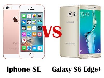 galaxy s6 vs iphone se