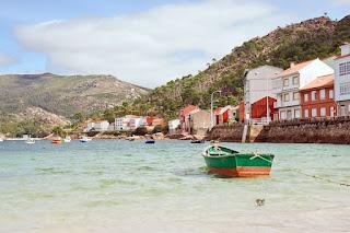 Boats in Rias Baixas, Galicia