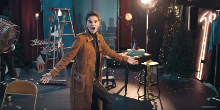 Selena Gomez stars in the Coach Holiday 2018 Campaign