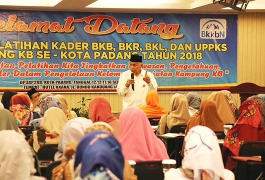 Kader BKB, BKR, BKL dan Anggota Kelompok UPPKS Diberi Pelatihan