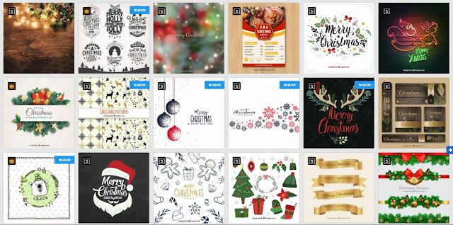 plantillas editables en psd de tarjetas de navidad gratis