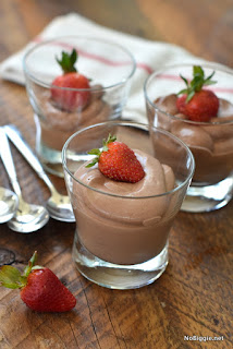 Simple And Healthy Chocolate Mousse love