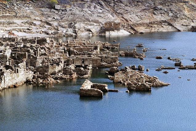 Gradovi i sela koji su nestali pod vodom!