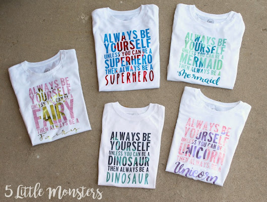 Always Be Yourself T-Shirts