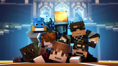 Minecraft : Kerjasama tim