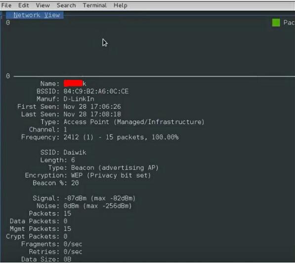 Hacking Wifi Using Kismet In Kali Linux?!!