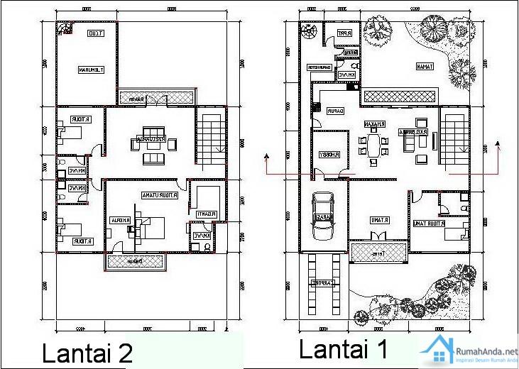 Image Result For Desain Rumah Tingkat