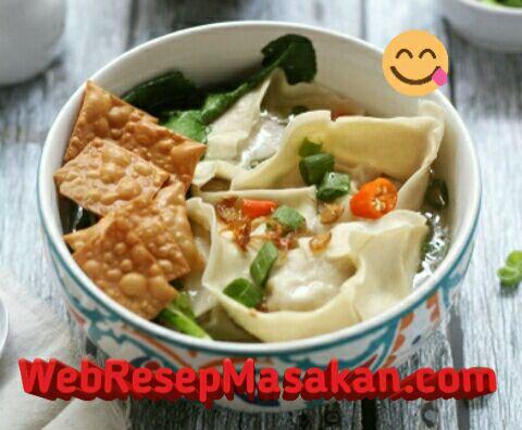Wonton Soup ncc, Resep wonton soup,
