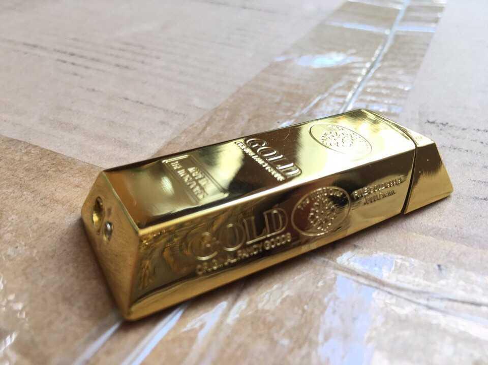 Bật lửa hộp quẹt thỏi vàng