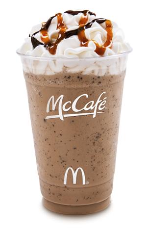News: McDonald's - New McCafe Frappé Chocolate Chip for a ...