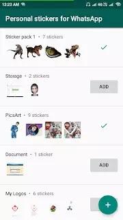 List of WhatsApp Sticker