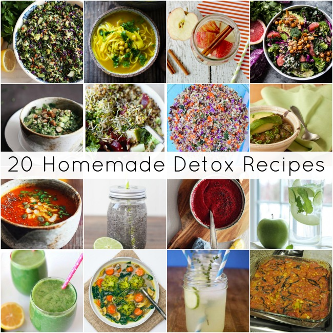 Homemade Detox Rexipes, Becky Cooks Lightly
