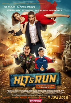 Film Hit & Run di Bioskop