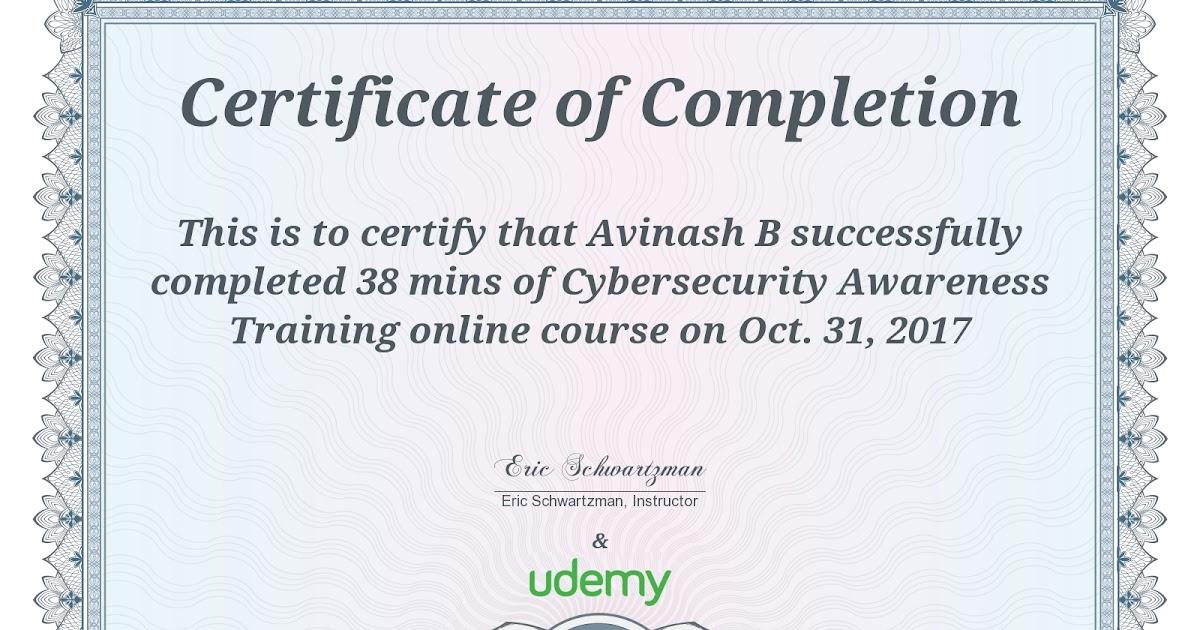Cyber Security Certificate Choice Image - creative certificate