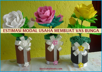 Rahasia Rincian Biaya Modal Usaha Vas Bunga Sampai Buka