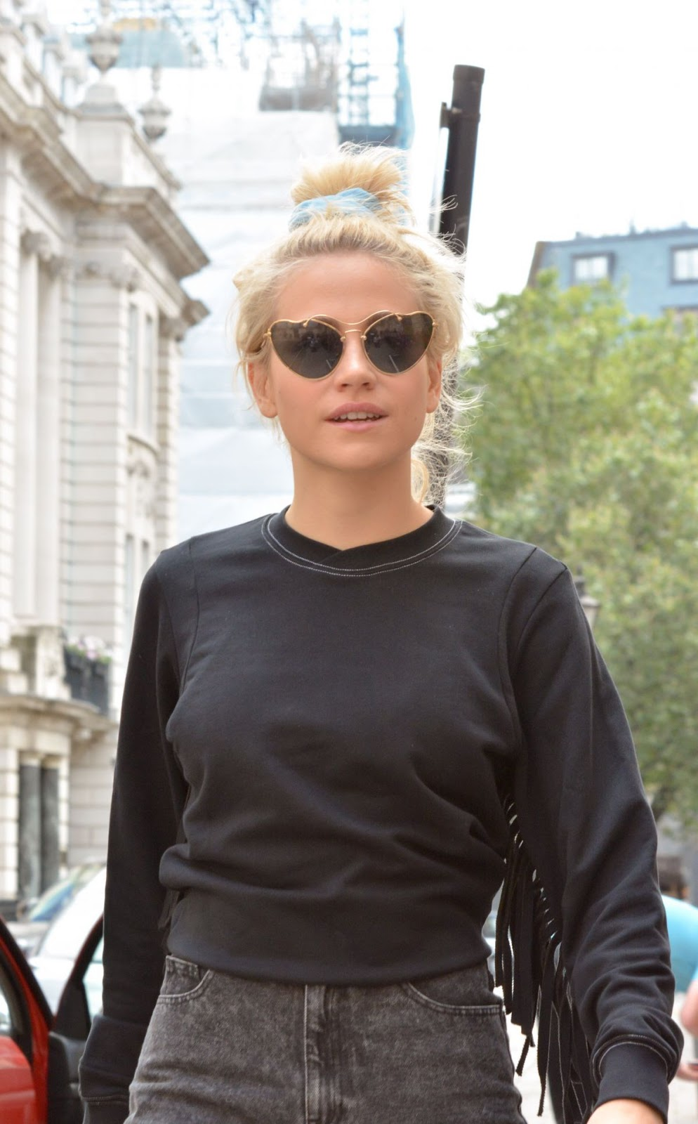 Pixie Lott at Haymarket Theatre in London