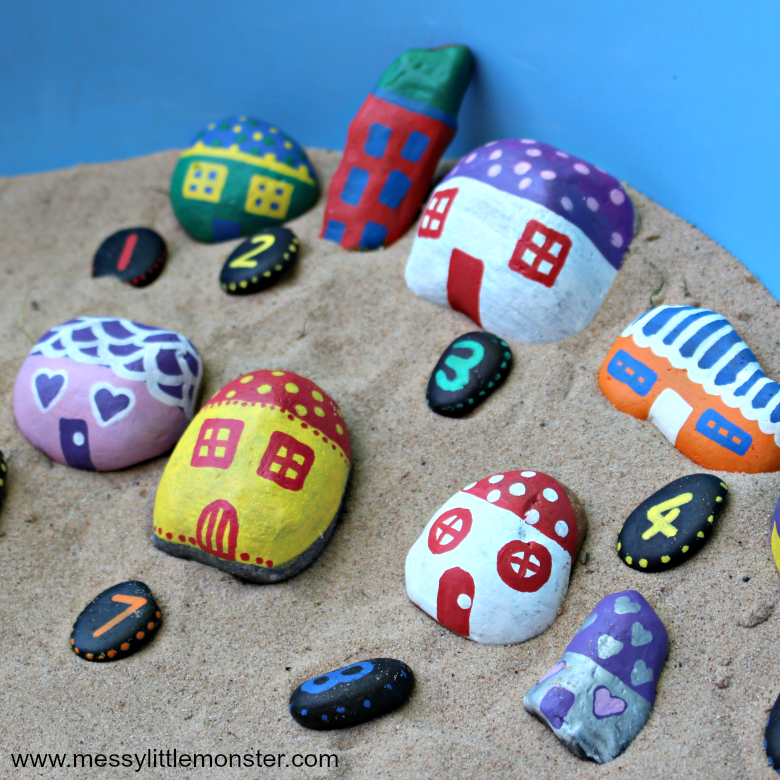painted rock crafts