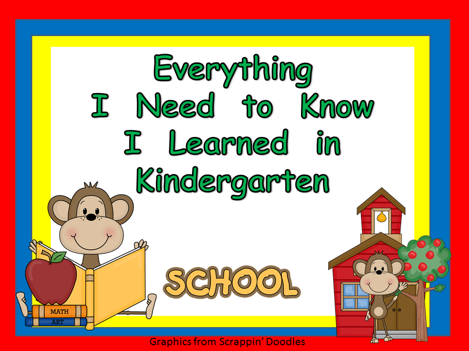 Profile%2BPicture%2BMe%2B2.1.12 - Everything I Know I Learned In Kindergarten