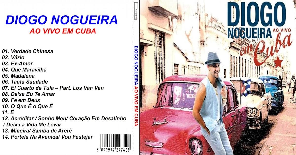 cd do diogo nogueira ao vivo em cuba