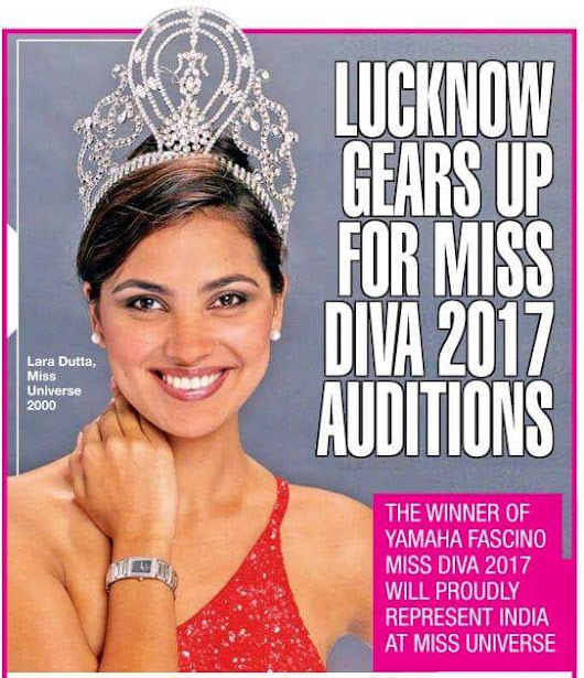 Lucknow gears up for the Yamaha Fascino Miss Diva – Miss Universe India 2017 first city audition