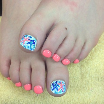 Nail Designs for Feet